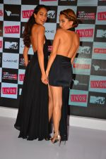 Lisa Haydon, Anusha Dandekar at the Launch of MTV_s India_s Next Top Model Hunt Season 2 in The Leela Hotel on 30th June 2016 (4)_577617fe89b17.JPG