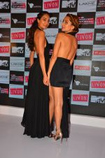Lisa Haydon, Anusha Dandekar at the Launch of MTV_s India_s Next Top Model Hunt Season 2 in The Leela Hotel on 30th June 2016 (6)_577617ff578ca.JPG