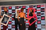 Lisa Haydon, Anusha Dandekar, Dabboo Ratnani and Neeraj Gaba at the Launch of MTV_s India_s Next Top Model Hunt Season 2 in The Leela Hotel on 30th June 2016 (28)_577618007d289.JPG
