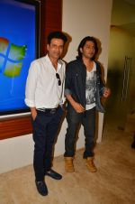Shirish Kunder, Manoj Bajpayee at the Press Conference of Short Film Kriti on 1st July 2016