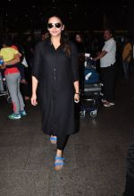 Huma Qureshi snapped at airport on 2nd July 2016
