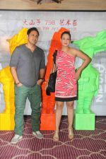 Preeti Jhangiani, Pravin Dabas at Krishika Lulla_s party in the new Asian Restaurant Dashanzi, J W Marriott, juhu on 2nd July 2016 (48)_5778febe590ac.JPG