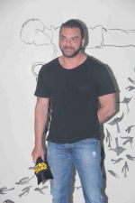 Sohail Khan at the premiere of her debut play Begum Jaan, in Mumbai on 2nd July 2016