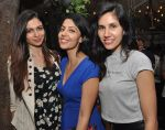 Simran Kaur Mundi, friend, Sonali Sehgal at the Launch Event of Mirabella Bar & Kitchen in Mumbai on 3rd July 2016_5779f84023430.jpg