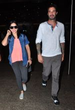 Sunny Leone snapped at airport on 4th July 2016