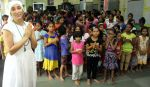 Gaia Mother Sofia distributed note books,bags to 140 girls of Bal Bhawan NGO at Andheri on 4th July 2016 (14)_577b51b220d2d.jpg