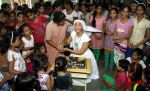 Gaia Mother Sofia distributed note books,bags to 140 girls of Bal Bhawan NGO at Andheri on 4th July 2016 (2)_577b519beb348.jpg