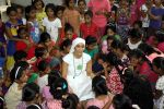 Gaia Mother Sofia distributed note books,bags to 140 girls of Bal Bhawan NGO at Andheri on 4th July 2016