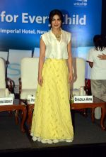 Priyanka Chopra during the Fair Start campaign with UNICEF in Imperial Hotel in New Delhi on 5th July 2016 (29)_577bb8cb512ba.JPG
