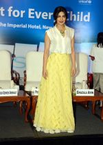 Priyanka Chopra during the Fair Start campaign with UNICEF in Imperial Hotel in New Delhi on 5th July 2016 (30)_577bb8cc1bd26.JPG