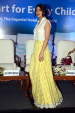 Priyanka Chopra during the Fair Start campaign with UNICEF in Imperial Hotel in New Delhi on 5th July 2016