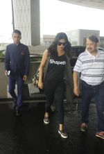 Priyanka chopra just left for Delhi snapped in Airport on 5th July 2016