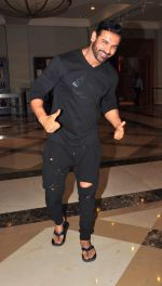 John Abraham at Dishoom interview in J W Marriott, Juhu on 5th July 2016