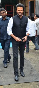 Anil Kapoor on the sets of India