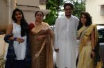 Reena Dutta, Junaid Khan, Ira Khan at Aamir Khan_s Eid Celebration on 7th July 2016 (10)_577e4181eed3d.jpg