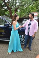 Urvashi Rautela, Vivek Oberoi snapped at Mehboob on 6th July 2016