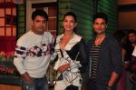 Gauhar khan, Rajeev Khandelwal on the sets of The Kapil Sharma show on 7th July 2016 (5)_577fa99f48180.JPG