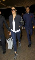 Deepika Padukone at Airport on 8th July 2016