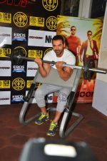 John Abraham at gold gym in Mumbai on 9th July 2016