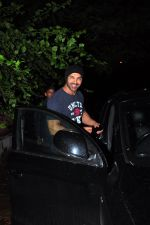 John Abraham snapped as he watches Dishoom in Juhu on 8th July 2016