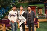 Rajeev Khandelwal and Gauhar Khan on the sets of The Kapil Sharma Show on 8th July 2016 (1)_578105f40d5e1.JPG