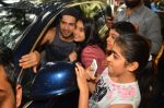 Varun Dhawan at gold gym in Mumbai on 9th July 2016