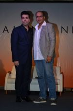 Karan Johar and Ashutosh Gowariker at Talent Hunt app launch on 11th July 2016