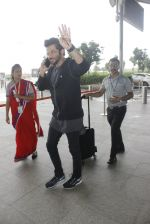 Anil Kapoor snapped at the airport on 12th July 2016