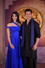Hrithik Roshan, Pooja Hegde at Mohenjo Daro film launch in Mumbai on 12th July 2016