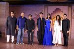 Hrithik Roshan, Pooja Hegde, Ashutosh Gowariker, Sunita Gowariker, Siddharth Roy Kapoor, A R Rahman, Bhushan Kumar at Mohenjo Daro film launch in Mumbai on 12th July 2016