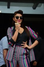 Jacqueline Fernandez promote Dishoom on the sets of Dance 2 plus on 11th July 2016