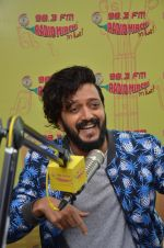 Riteish Deshmukh at Radio Mirchi on 12th July 2016