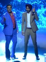 Shoaib Akhtar and Harbhajan Singh on the sets of Life Ok new show Mazak Mazak Me promo shoot on 11th July 2016