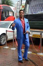Shoaib Akhtar on the sets of Life Ok new show Mazak Mazak Me promo shoot on 11th July 2016 (30)_5784764be88a6.JPG