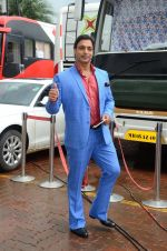 Shoaib Akhtar on the sets of Life Ok new show Mazak Mazak Me promo shoot on 11th July 2016 (31)_5784764c85c81.JPG