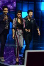 Varun Dhawan, Jacqueline Fernandez promote Dishoom on the sets of Dance 2 plus on 11th July 2016 (47)_5784761caa234.JPG