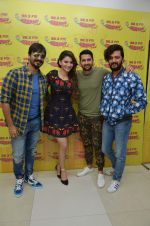 Vivek Oberoi,Riteish Deshmukh,Aftab Shivdasani and Urvashi Rautela at Radio Mirchi on 12th July 2016