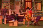 Aftab Shivdasani, Riteish Deshmukh, Vivek Oberoi promote Great Grand Masti on the sets of The Kapil Sharma Show on 12th July 2016