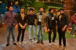 Aftab Shivdasani, Riteish Deshmukh, Vivek Oberoi, Kapil Sharma promote Great Grand Masti on the sets of The Kapil Sharma Show on 12th July 2016