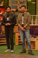 Riteish Deshmukh, Vivek Oberoi promote Great Grand Masti on the sets of The Kapil Sharma Show on 12th July 2016