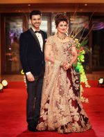 Divyanka Tripathi and Vivek Dahiya reception on 13th July 2016