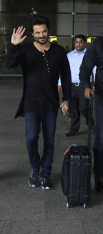 Anil Kapoor At Airport on 13th July 2016