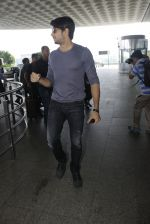 Sidharth Malhotra snapped at airpot on 14th July 2016
