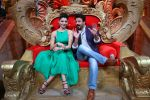 Vivek Oberoi, Riteish Deshmukh,Urvashi Rautela promote Great Grand Masti on the sets of Comedy Nights Bachao on 13th July 2016-1 (11)_578753634aa43.JPG