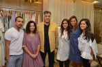 Designers Mayank Anand, Shraddha Nigam, Kichu Dandiya, Anjali Patel Mehta with Saudamini Mattu and Abu Jani at the launch of FANTASTIQUE by Abu Sandeep on 15th July 2016_578925ac03102.JPG