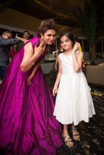 Divyanka Tripathi and Ruhanika Dhawan at Divyanka-Vivek_s Happily Ever After Party in Mumbai on 14th july 2016_5789240e8c6ed.jpg