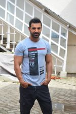 John Abraham snapped at Mehboob on 15th July 2016