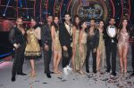 Karishma Tanna, Helly Shah on the sets of Jhalak Dikhla Jaa 9 in Mumbai on 15th July 2016