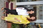 Saudamini Mattu and Twinkle Khanna at the launch of FANTASTIQUE by Abu Sandeep on 15th July 2016