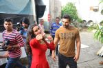 Shraddha Kapoor, John Abraham snapped at Mehboob on 15th July 2016 (8)_578936eed2fbf.JPG